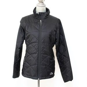 NWT L.L. Beach Black Primaloft Jacket